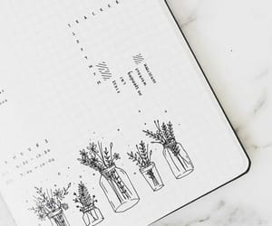 journal, planner, and school image