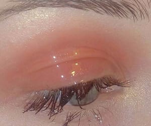 art, lashes, and sparkle image