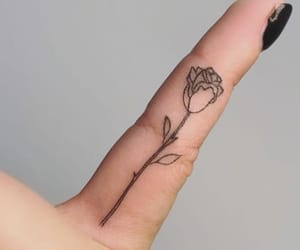 tattoo, beautiful, and flowers image