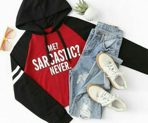 girly, jeans, and looks image