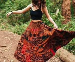 boho, fashion, and girl image