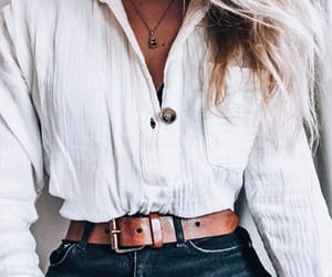 blonde, details, and fashion image
