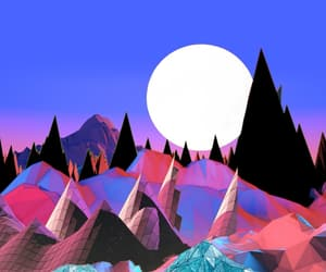 abstract, planet, and psychedelic image