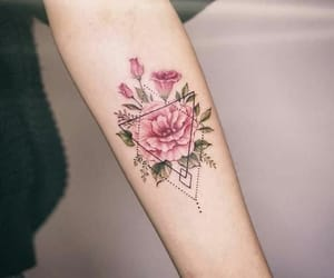 tattoo, flower, and inspiration image