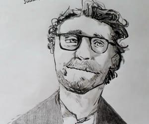 actor, dibujo, and man image