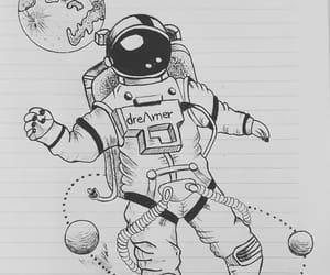 art, artist, and astronauta image