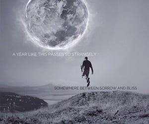 florence and the machine, Lyrics, and moon image