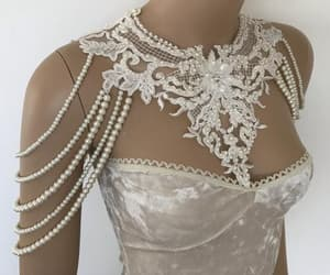 etsy, bridal accessories, and pearl jewelry image