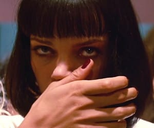 pulp fiction, 90s, and mia wallace image