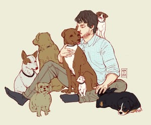 hannibal, will graham, and cute image
