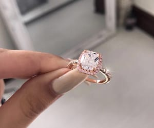 ring, beauty, and diamond image