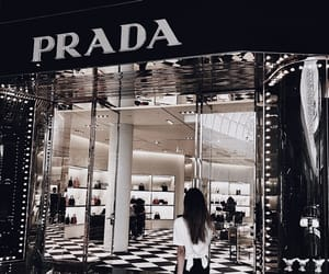 Prada, shopping, and lux store image