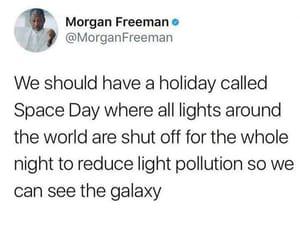 morgan freeman and tweet image