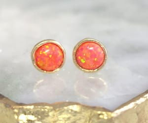 coral, etsy, and fashion image