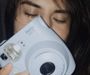 blue, instax, and fuji film image