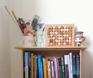 aesthetic, book, and book shelf image