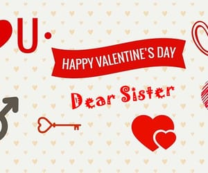 valentines day sister and happy valentines day sis image