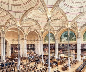 architecture, beauty, and books image