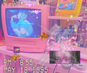 aesthetic, pink, and wonder girls image