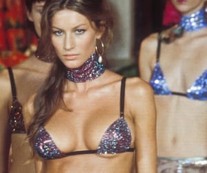Dolce & Gabbana, Gisele Bundchen, and 90s fashion image