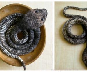 knitting, snake, and toys image