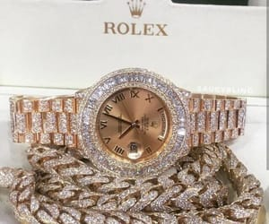 rolex, jewelry, and watch image