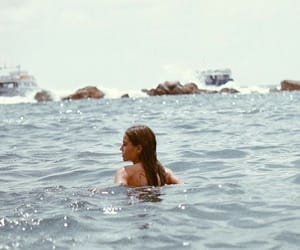 girl, ocean, and summer image