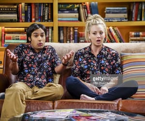 penny, kaley cuoco, and the big bang theory image