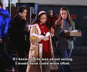 food, funny, and gilmore girls image