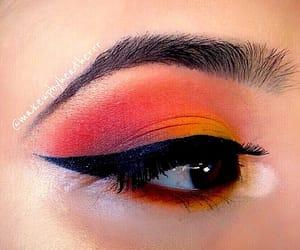 eyeliner, eyeshadow, and makeup image