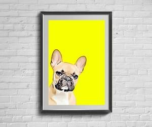 dog lover gift, digital download, and french bulldog print image