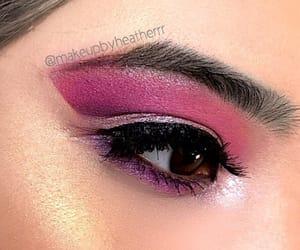 chic, eyemakeup, and eyelook image