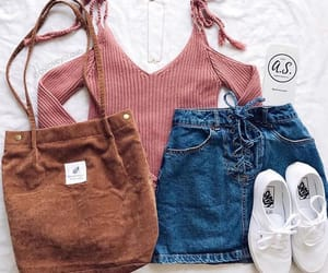 brown bag, fashion, and goals image