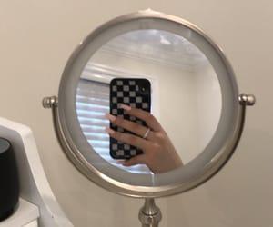 mirror, nails, and ring image