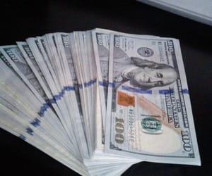 cash, dollar bills, and dollars image
