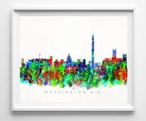 cityscape, etsy, and wall art image