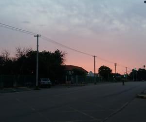 cars, city, and dusk image