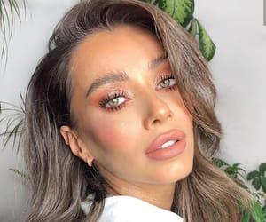 beauty, make up, and blush image
