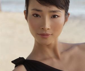 asian, beach, and model image