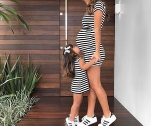pregnancy, baby, and daughter image