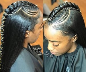 beauty, edges, and hairstyles image
