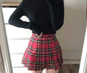 clothes, skirt, and girl image