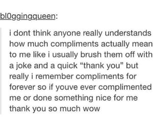 compliments, positive, and positivity image