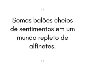 baloes, frase, and sentimentos image