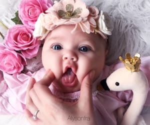baby, baby girl, and fashion image