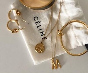 jewelry, celine, and necklace image