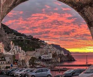 italy, sunset, and lifestyle image