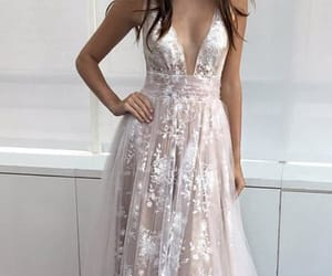 prom dresses, homecoming dresses, and prom dress v-neck image