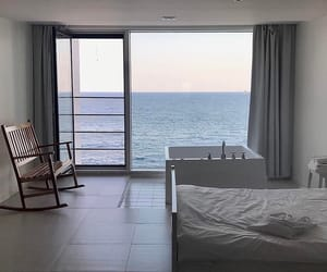 beach, bedroom, and Dream image