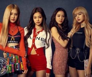 k-pop, lisa, and jennie image